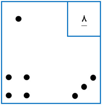 4 Corners/ a game for adding and subtracting/ Farsi