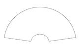 中国画扇面图 Chinese drawing paper -----Fan shape