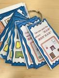 中文家居单元口袋学习卡 Mandarin Chinese house unit pocket review cards