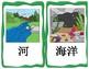 中文 Chinese Mandarin animal habitats flashcards 动物栖息地词卡