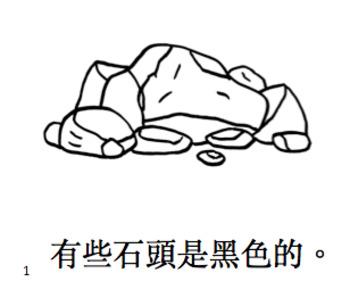 石頭小閱讀書 Little Chinese Reader: Rocks