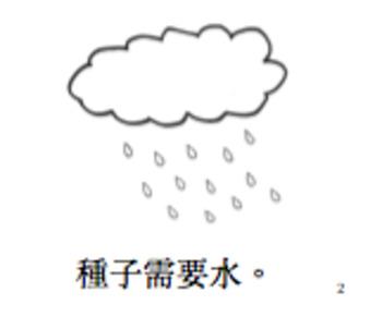 種子需要什麼小閱讀書 Little Chinese Transitional Reader: What does a seed need?