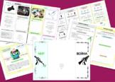 """Интерактивная брошюра + видеоанимация """"Механизмы войны и м"""