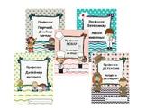 Профессии: набор из пяти рабочих тетрадей