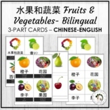 水果和蔬菜 Fruits & Vegetables Chinese Bilingual Vocabulary 3 P