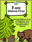 В лесу In the forest Russian Minibook and Theme Pack