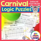 Carnival Theme Logic Puzzles