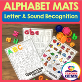 Alphabet Mats for Letter and Sound Recognition