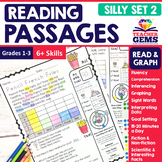 Reading Passages - Read and Graph Silly Set 2