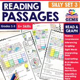Reading Passages - Read and Graph Silly Set 3