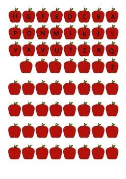 משחק עץ תפוחים באנגלית