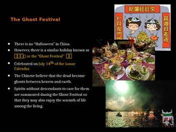 万圣节 中国的鬼