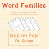 Word Families Lesson with Hop on Pop by Dr. Seuss