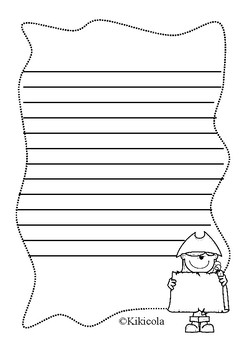 pirate writing worksheets
