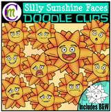 Sun Faces Clipart