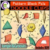 Pattern Block Clipart Pals: Jumpin' & Groovin'