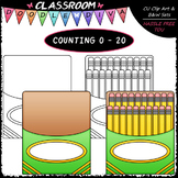 (0-20) Counting A Pack of Pencils - Sequence, Counting & M