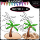 (0-20) Counting Clip Art & B&W Bundle 3 (4 Sets)