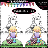 (0-20) Counting Easter Eggs - Sequence, Counting & Math Cl