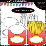(0-20) Counting French Fries - Sequence, Counting & Math C