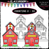(0-20) Counting Icicles - Sequence, Counting & Math Clip A