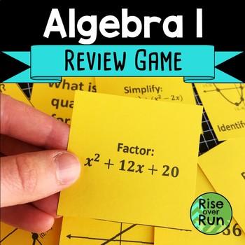 Algebra I Review Game