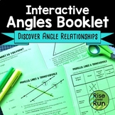 Angle Relationships Discovery Activity Booklet