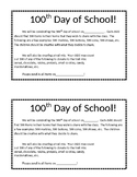 !00 days of school