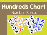 100s Pocket Chart Numbers