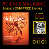 #01101 Science Magazines - Science 2016 Sample