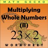 #052 - Multiplying Whole Numbers (II) - Maze
