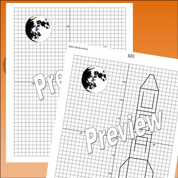 #072 - Graphing Coordinates Picture (Rocket)
