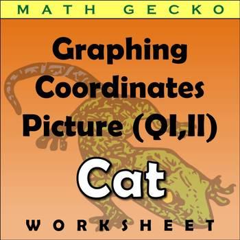 #073 - Graphing Coordinates Picture (Cat)