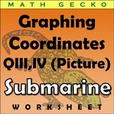 #074 - Graphing Coordinates Picture (Submarine)