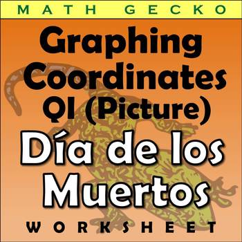 #076 - Graphing Coordinates Picture (Halloween/Dia de los Muertos)