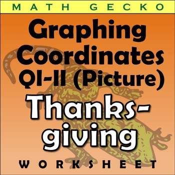 #077 - Graphing Coordinates Picture (Thanksgiving)