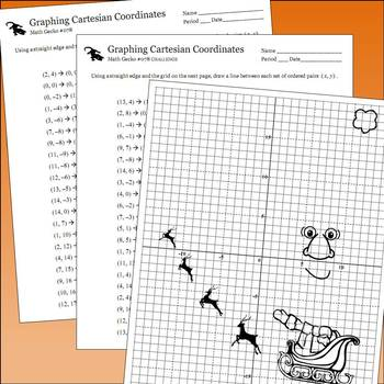 #078 - Graphing Coordinates Picture (Christmas)