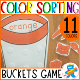 Color Sorting Interactive Game 11 colors hands-on learning