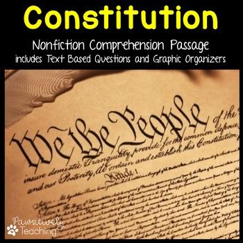 Constitution Reading Passage - Nonfiction Text & Questions
