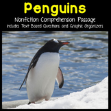Penguins Reading Passage Nonfiction Text & Questions