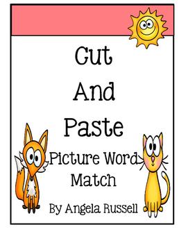 CVC Picture Word Match