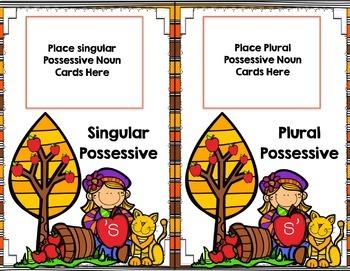 Singular and Plural Possessive Nouns Task Cards