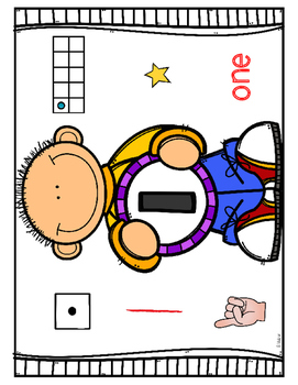 #1-10 Posters and Number Line