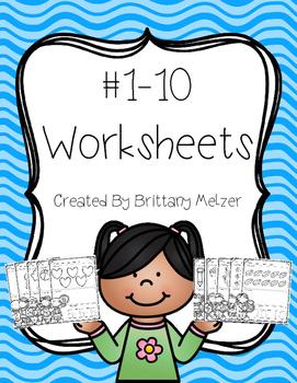 #1-10 Worksheets