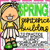 Spring Themed Sentence Building Activity