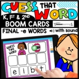 CVCE Word Practice Activities BOOM CARDS™ Distance Learning