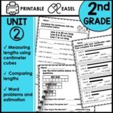 2nd Grade Math Worksheets Printable | Digital Google Classroom