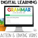 Action and Linking Verbs Self-Grading Quiz | Google Apps |