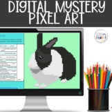 Conjunctions Digital Mystery Pixel Picture