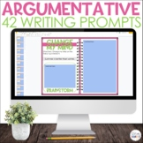 Argumentative Writing Prompts Distance Learning